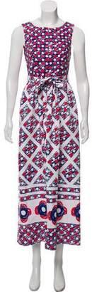 Vika Gazinskaya Printed Maxi Dress