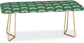 Deny Designs Holli Zollinger Farmhouse Petal Bench