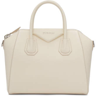 Givenchy Off-White Small Antigona Bag