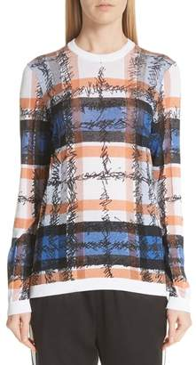 Burberry Parrow Scribble Check Sweater