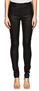 Zero Maria Cornejo Women's Stretch Leather Skinny Leggings - Black