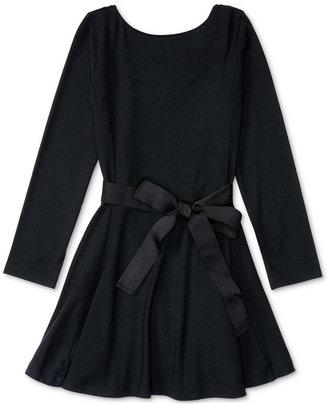 Ralph Lauren Stretch Pullover Dress, Toddler & Little Girls (2T-6X) $59.50 thestylecure.com