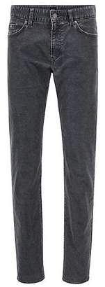 HUGO BOSS Slim-fit jeans in cotton-blend stretch corduroy