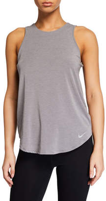 Nike Crewneck Twist-Back Tank Top