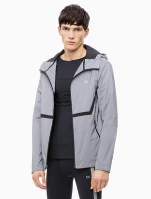 Calvin Klein Reflective Hooded Windbreaker