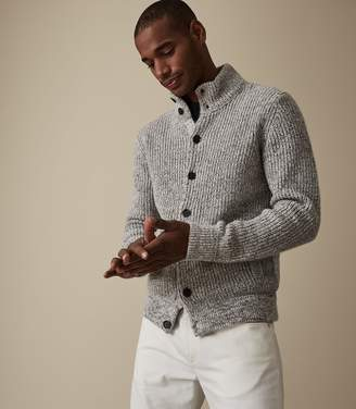 Reiss Brendon Chunky Knitted Cardigan