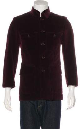 Paul Smith Velvet Button-Up Jacket