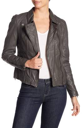 Muu Baa Muubaa Almora Leather Biker Jacket