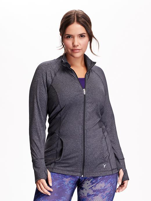 Old Navy Women's Plus Active by Compression-Waist Jackets