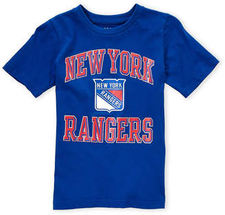Majestic Boys 8-20) New York Rangers Tee