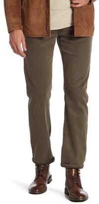 Fidelity Jimmy Lumina Slim Straight Leg Twill Pants