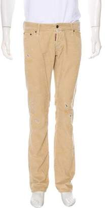 DSQUARED2 Five-Pocket Corduroy Pants