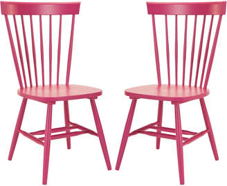 Safavieh Parker 17''H Spindle Dining Chair (Set Of 2)