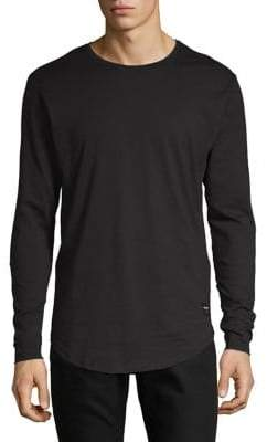 ONLY & SONS Long-Sleeve Cotton Tee