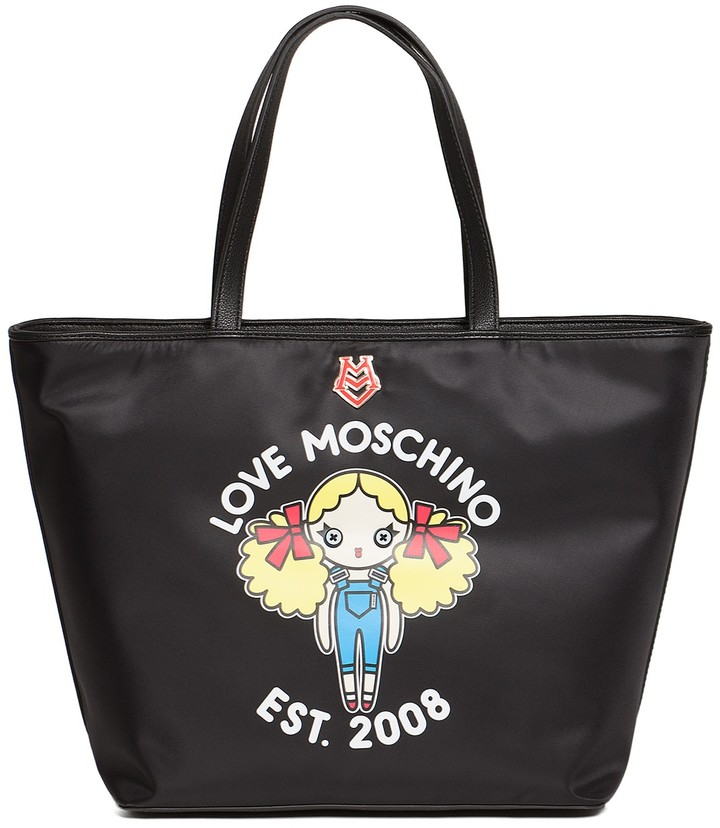 Love Moschino LOVE Moschino Graphic Tote Bag