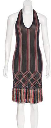 Alexander McQueen Knit Halter Dress