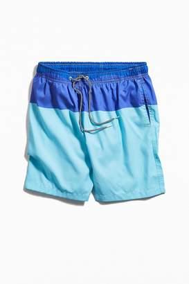 Boardies Block Stripe Mid-Length Swim Short