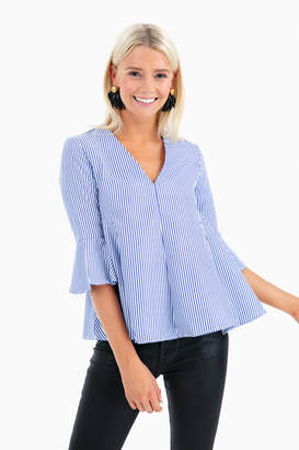 Do & Be Do+Be Striped Adelaide Blouse