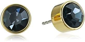 Michael Kors Tone Navy Stud Earrings