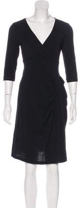 Just Cavalli Wool Mini Dress