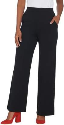 Brooke Shields Timeless BROOKE SHIELDS Timeless Petite Ponte Wide-Leg Pants