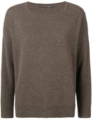 Incentive! Cashmere cashmere crew neck sweater