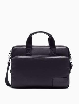 Calvin Klein pebble essentials logo business bag