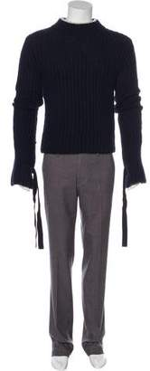 J.W.Anderson Alpaca Mock Neck Sweater