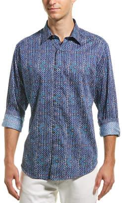 1e8bb87b1d Robert Graham Blue Men's Dress Shirts - ShopStyle