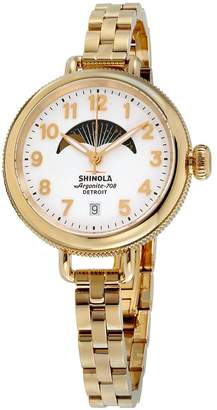 Shinola Women's The Birdy 34mm Steel Bracelet & Case Quartz Watch 20008180