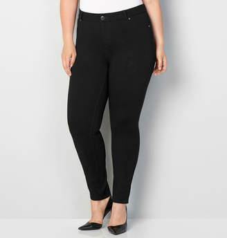 Avenue Ponte Knit Jean (Black)