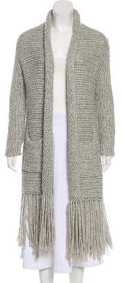 Raquel Allegra Alpaca Cable Knit Cardigan