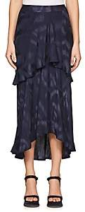 Sies Marjan Women's Paris Tiered Skirt - Dark Navy