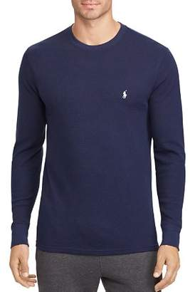 Polo Ralph Lauren Long-Sleeve Waffle-Knit Tee