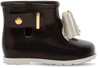 Mini Melissa Scented Rubber Bow Boots