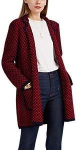 Barneys New York Women's Merino Wool Cardigan - Navy