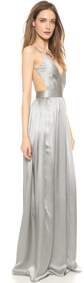 ONE by Contrarian Babs Bibb Maxi Dress 11