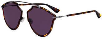 Christian Dior So Real Riss Mirrored Sunglasses