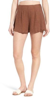 Women's O'Neill X Natalie Off Duty Chloe Woven Shorts $46 thestylecure.com