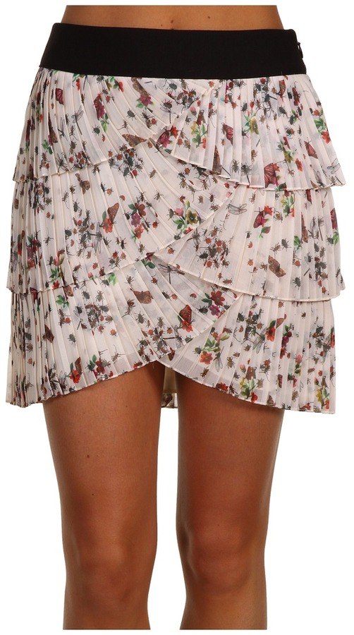 Ted Baker - Fussli Pleated Layered Mini Skirt