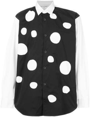 Comme des Garcons polka dotted shirt