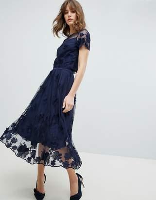 Coast Neive Floral Applique Skirt