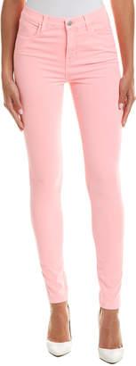 J Brand Maria Guava High-Rise Skinny Leg