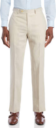 Lauren Ralph Lauren Tan Linen Dress Pants