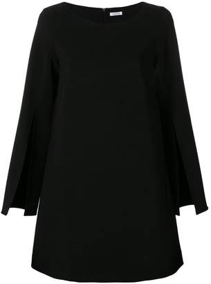 P.A.R.O.S.H. slit sleeve A-line dress
