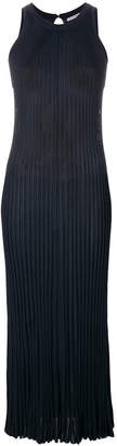 Dusan Pleated vismat maxi dress