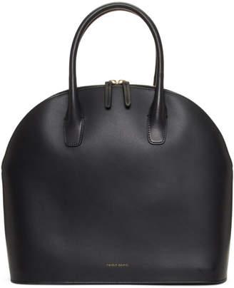Mansur Gavriel Black Rounded Top Handle Bag