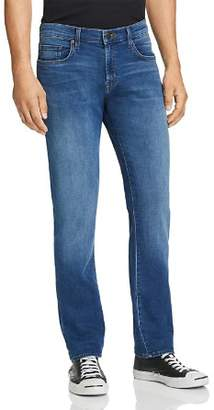 J Brand Kane French Terry Straight Fit Jeans in Roper