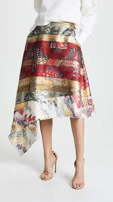 ADAM by Adam Lippes Side Swag Skirt