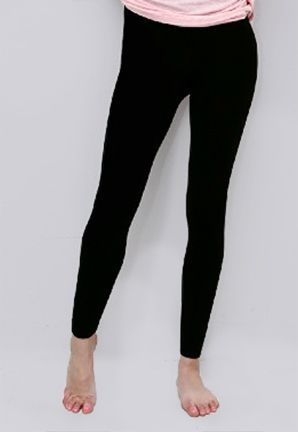 Plush Footless Fleece Legging